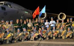 Bệnh viện Dã chiến cấp 2 số 1 của Việt Nam hoàn thành nhiệm vụ về nước an toàn