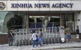 """Văn phòng Tân Hoa Xã tại Hong Kong bị tấn công bằng bom xăng, báo chí TQ kêu gọi """"mạnh tay"""""""