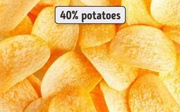 12 lời nói dối kinh điển nhất mọi thời đại: Khoai tây chiên đóng gói làm từ khoai tây 100%