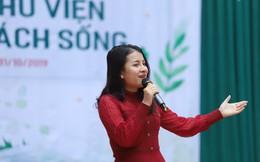 """Sao Mai Nguyễn Vũ Hà Giang: """"Góp 1 cuốn sách là chương trình giàu ý nghĩa và xúc động nhất"""""""
