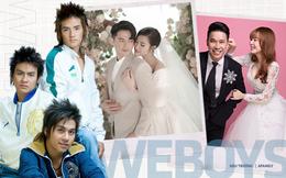 Đường tình đối lập của nhóm Weboys: Người đào hoa nhất nhì Vbiz, người làm bố đơn thân, riêng Ông Cao Thắng 10 năm vẫn chỉ yêu một người