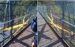 Bé trai 2 tuổi mất mạng khi rơi từ trên cầu treo cao gần 80 mét