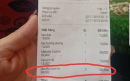 """Thực hư quán cà phê """"phụ thu con nít"""" 50.000 đồng"""