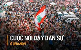 """Biểu tình lịch sử chống chính phủ ở Lebanon sau """"giọt nước tràn ly"""": Cả lực lượng vũ trang cũng tuyên bố ủng hộ"""