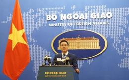 Bộ Ngoại giao trả lời về khả năng khởi kiện TQ liên quan đến các diễn biến ở Biển Đông
