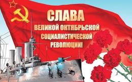 Mít tinh kỷ niệm 102 năm Cách mạng tháng Mười vĩ đại