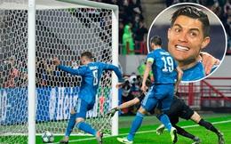 """Cả năm mới có quả đá phạt """"ra tấm ra món"""", nhưng Ronaldo bị đồng đội cướp mất bàn thắng"""
