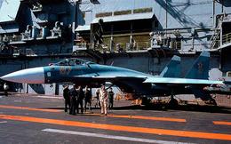 Màn hạ cánh lịch sử của tiêm kích Su-33 trên tàu sân bay Đô đốc Kuznetsov
