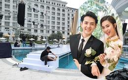 Hé lộ không gian siêu đám cưới 10 tỷ của Đông Nhi và Ông Cao Thắng
