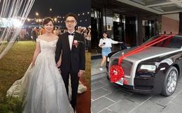 Choáng ngợp trước đám cưới bạc tỷ với dàn siêu xe đón dâu gồm toàn Lamborghini, Limousine và Rolls-Royce