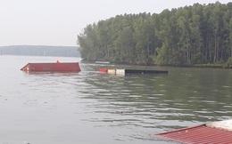 Trục vớt tàu chở container chìm trên sông Lòng Tàu, 3 thợ lặn mất tích, 2 người bị thương