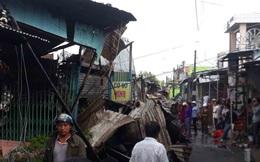12 căn nhà trong chợ ở Cà Mau bị thiêu rụi lúc rạng sáng, thiếu nữ 14 tuổi tử vong thương tâm