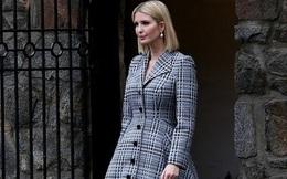 Ái nữ nhà Trump diện áo khoác váy 2.300 USD đi làm