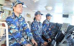 Hải quân Việt Nam-Trung Quốc tuần tra liên hợp trên vùng biển Vịnh Bắc Bộ lần thứ 27