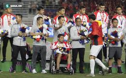 """Khiến """"Messi Indonesia"""" gặp chấn thương, Đoàn Văn Hậu đến tận nơi xin lỗi"""