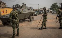 Khủng bố tấn công doanh trại quân đội Nigeria, hơn 70 binh sĩ thiệt mạng