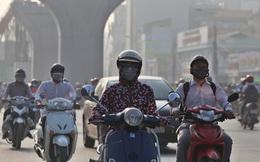 """Chất lượng không khí ở Hà Nội có thời điểm lên ngưỡng màu nâu - mức """"cực kỳ nguy hại"""""""