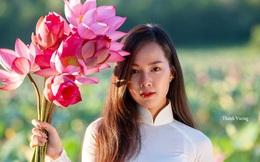 Chân dung nữ sinh Đà Nẵng trong tà áo dài trắng khiến người đối diện không ngừng cảm thán