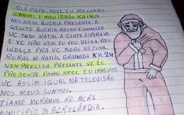 Bức thư gửi ông già Noel với ước mong đáng yêu của cậu bé 9 tuổi 'gây sốt' mạng xã hội