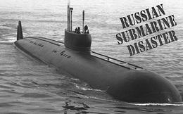 Vận đen liên tiếp với Hải quân Nga: Vừa cháy tàu sân bay, lại chìm tàu ngầm ở Biển Đen