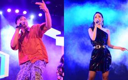 """Minh Hằng, Trọng Hiếu nhảy sung trên sân khấu đêm chung kết """"Kpop Dance For Youth"""""""