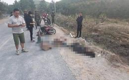 Ô tô đâm xe máy đi ngược chiều khiến 3 công nhân làm đường thương vong