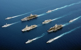 """Báo Mỹ: """"Xử"""" xong người Nga, Hải quân Trung Quốc """"chĩa súng"""" vào Mỹ"""