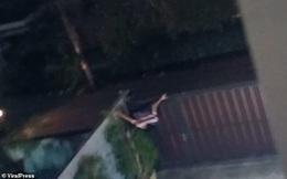 Mới vừa trèo qua cổng nhà dân, tên trộm hậu đậu đã gặp 'tai nạn' suýt vỡ mặt
