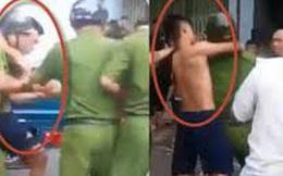 Người đàn ông xông vào đánh công an viên khi bị bắt về tội trộm cắp tài sản ở Đồng Nai