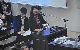 """Vợ cựu Bộ trưởng Trương Minh Tuấn: """"Chồng tôi nhận số tiền từ bị cáo Vũ nhưng không mang tiền về"""""""