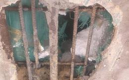 Nhận định nguyên nhân cầu hơn 7 tỷ đồng rạn nứt, lộ cốt xốp bên trong