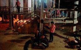 Sập hố móng cầu treo từ thiện, 2 công nhân tử vong, 1 người bị thương