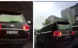 """Biển xanh mà xe Toyota Land Cruiser """"biến hình"""" trên đường phố Hà Nội đeo là giả"""