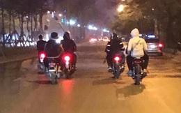 Công an Hà Nội truy bắt nhóm thanh niên vác dao, kiếm diễu hành trên phố, chặn cướp của người đi đường