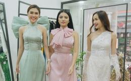 Hoa hậu Siêu quốc gia Malaysia thích thú khi được mặc áo dài Việt
