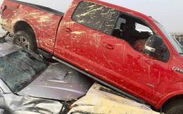 69 xe hơi lao chất chồng lên nhau trong tai nạn liên hoàn gây tắc nghẽn cao tốc Mỹ