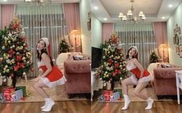 Chi Pu nhảy sexy mừng giáng sinh