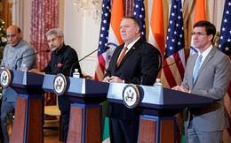 """Mỹ, Ấn ký văn bản an ninh quan trọng, đàm phán thiết bị quân sự """"khủng"""": Thông điệp cho TQ"""