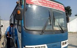 Bắt giữ xe khách 30 chỗ chuyên đưa đón học sinh hết hạn đăng kiểm