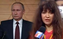 """Vài ngày sau khi hỏi ông Putin câu hỏi """"chưa được duyệt"""", nữ phóng viên bị sa thải bí ẩn"""