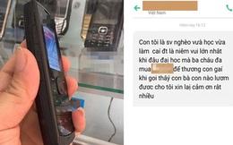 Con gái làm việc trong siêu thị bị mất điện thoại, tin nhắn mẹ gửi cho kẻ trộm gây bất ngờ