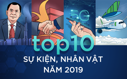 Top 10 nhân vật, sự kiện kinh tế năm 2019