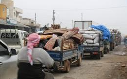 Syria: Hơn 235.000 người phải sơ tán khỏi Idlib do xung đột