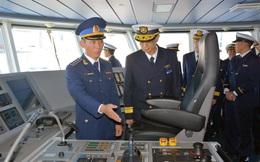 Tàu CSB 8002 hiện đại và tiện nghi