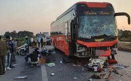 Tai nạn liên hoàn trên cao tốc Hà Nội - Bắc Giang, nữ phụ xe tử vong