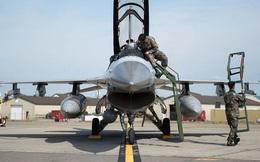 Phi công Mỹ bị thương khi hạ cánh F-16 ở Hàn Quốc