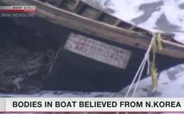 'Tàu ma' chứa 7 thi thể trôi dạt vào bờ biển Nhật Bản