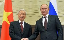 Tổng thống Nga chúc mừng Năm mới Tổng bí thư, Chủ tịch nước Việt Nam