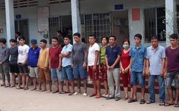 """Triệt phá sòng bạc """"Sang kỳ đà"""", bắt giữ gần 20 nam, nữ ở Đồng Nai"""