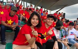 """Fan Việt """"nhuộm đỏ"""" SVĐ Binan, dự đoán chiến thắng áp đảo cho đội nhà"""